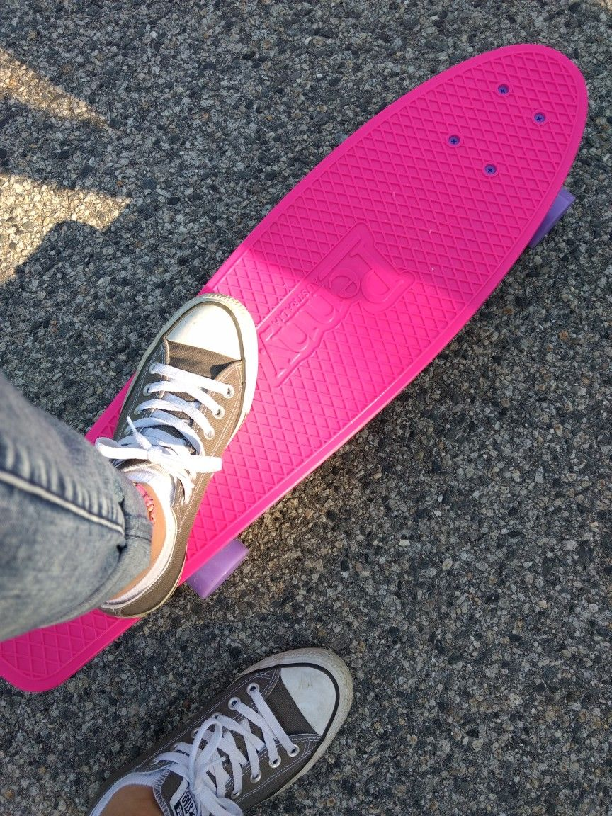 Im in love with my new penny skateboard nickelboard