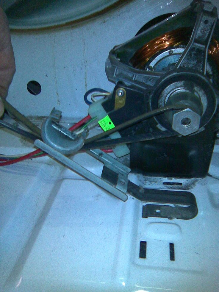 How to replace a dryer belt on whirlpool models dryer