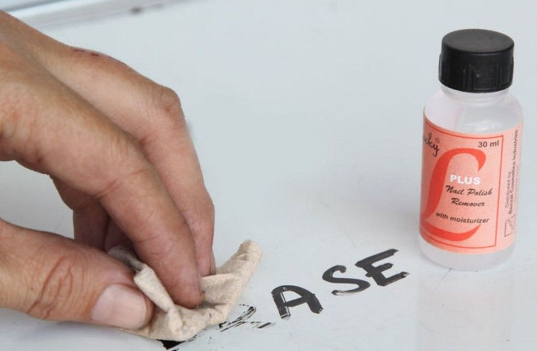 How to remove permanent marker from everything ink stain