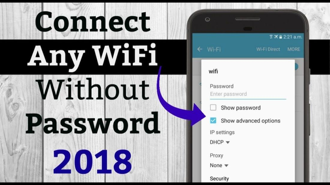 How to connect any wifi without password 2018 youtube