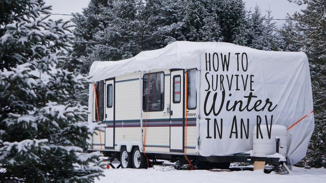 How to survive a canadian winter in an rv youtube