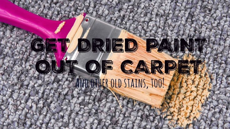How to get rid of old carpet stains carpet stains