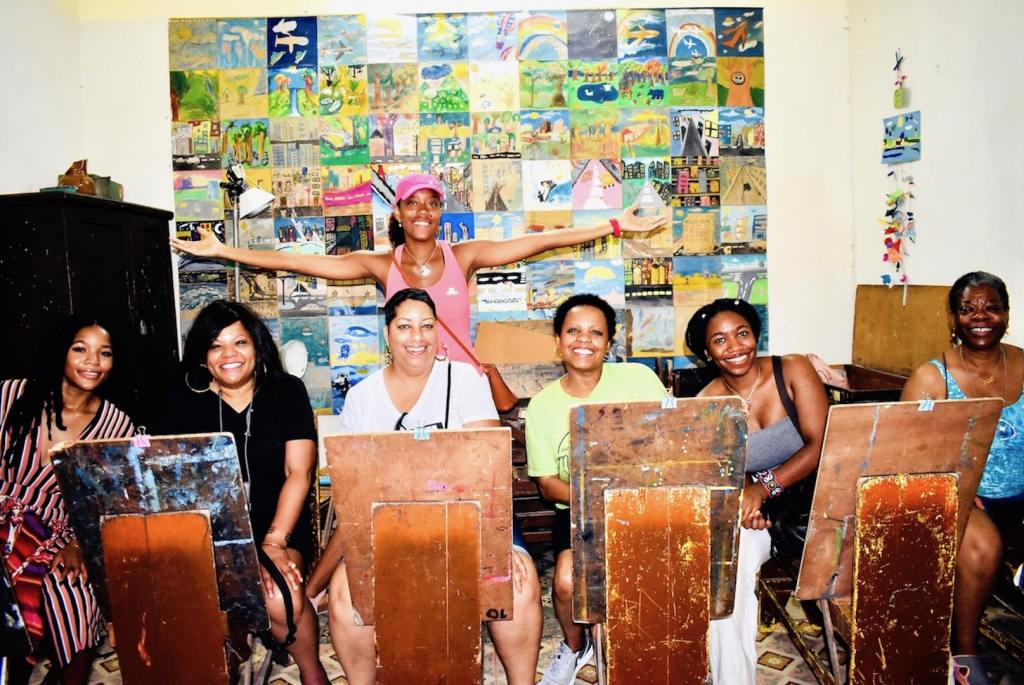 Art Class in Cuba-min