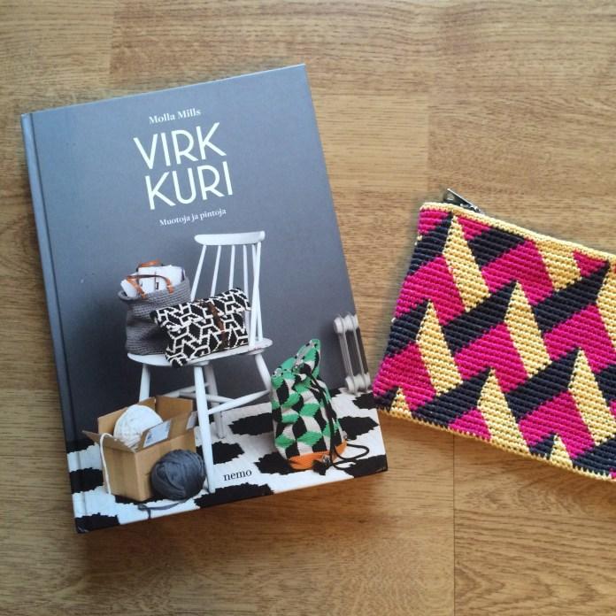 Pattern by Molla Mills, from her second crochet book Virkkuri II.