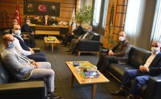 MHP Altınova'dan Oral'a ziyaret