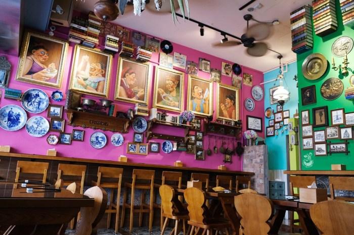 川姥姥巴黎小麵館-台中南屯區法國華麗風格的麻辣川味麵食館,史上最浮誇平價麵店