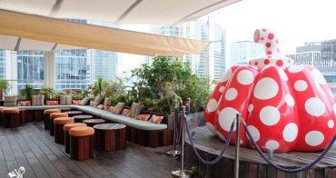 香港酒吧推薦︳PIQNIQ:最具文藝氣息的中環酒吧,有草間彌生大南瓜加持
