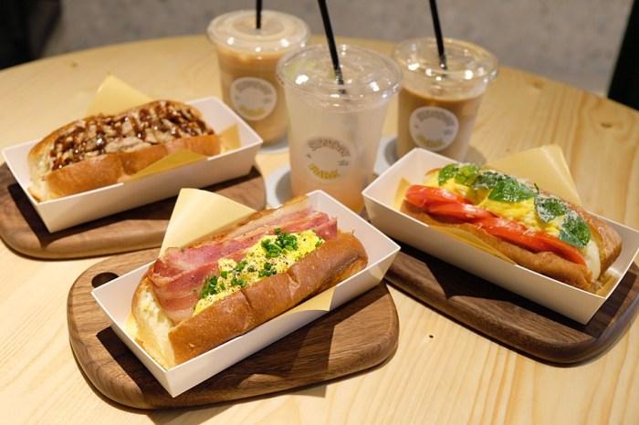 公園裡的星期天Sunday in the Park :台中科博館周邊早午餐(咖啡館),一份三明治足以抵一餐