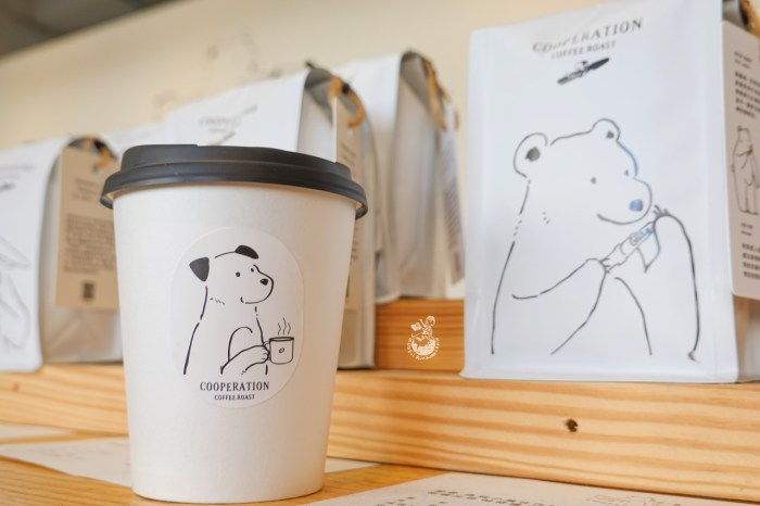 合作咖啡Cooperation Coffee ︳台中高鐵附近可愛的自家烘焙咖啡廳