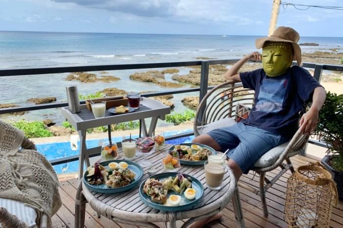 聽著海聲迷路︳海龜咖啡樓上的豪華海景房,超適合情侶的墾丁海景民宿
