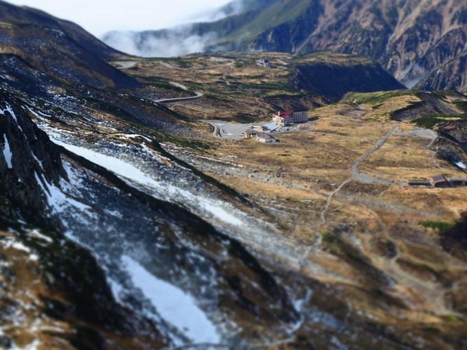 E-M5 Mark II | OM-D | アートフィルター(ジオラマ)で撮った立山のミニチュア写真