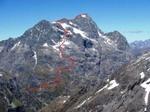 Mt.Christina クリスティーナ山 2474m -ノーマルルート: Windy Corner