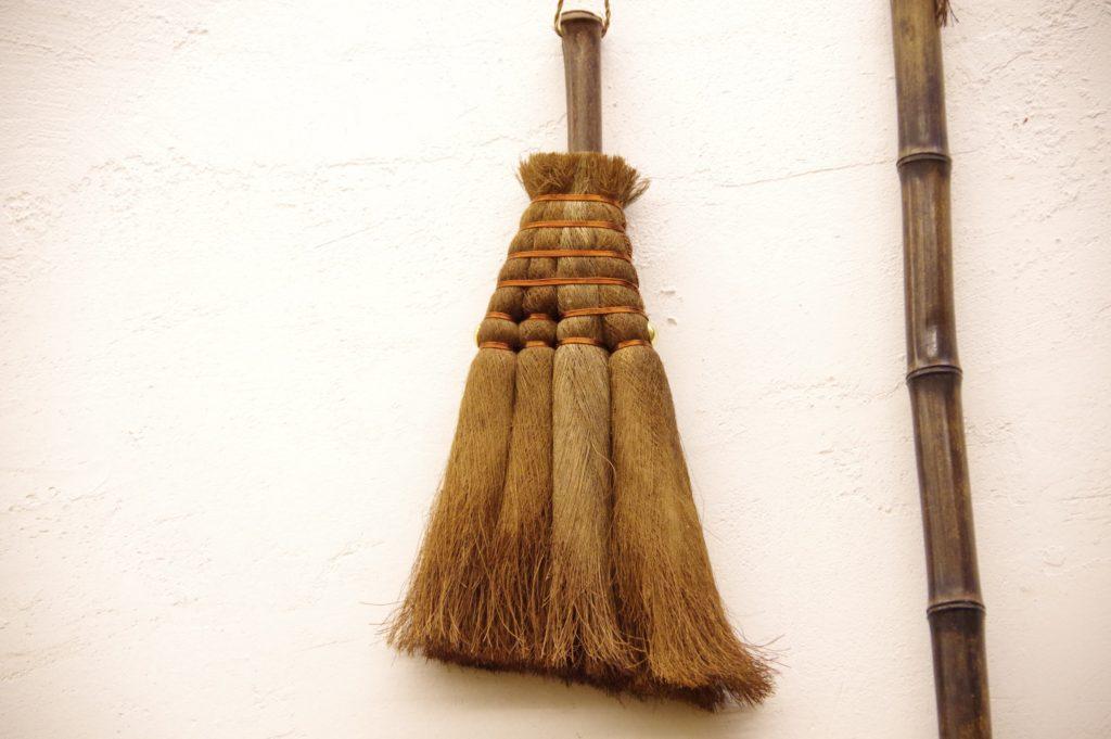 棕櫚箒ハンディー 高砂