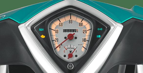New Speedometer Design With Eco Indicator