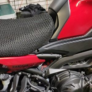 Отзыв на 3D сетку на сиденье мота