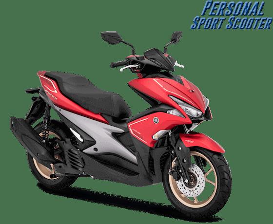 Aerox S ABS Merah (Keyless)
