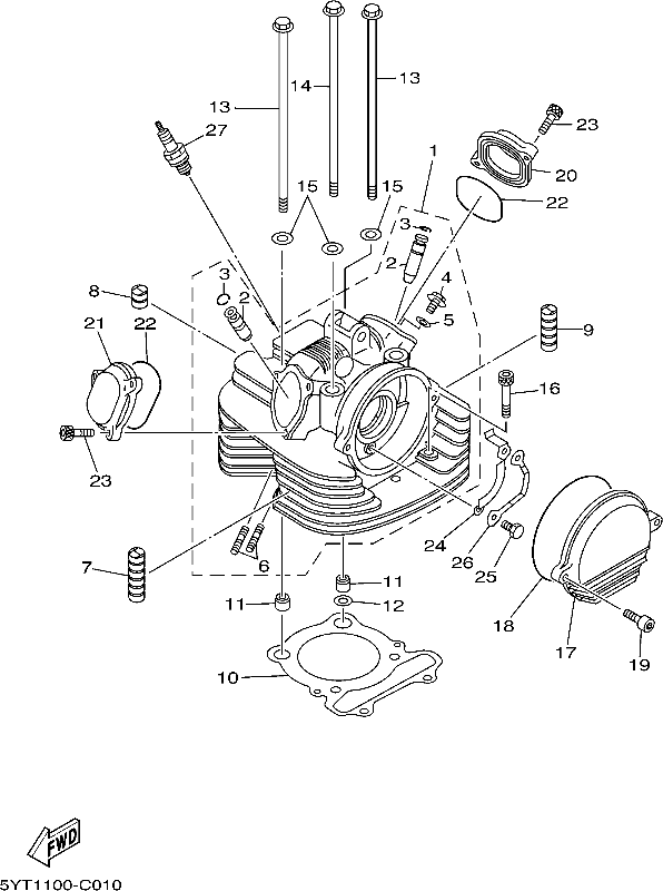 Raptor 350 Engine Gasket Diagram