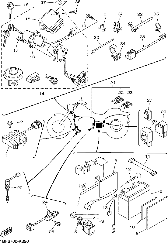 Yamaha V Star Wiring Diagram Schemes. Diagram. Auto Wiring