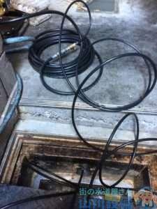 大阪府大阪市城東区  排水配管詰まり修理