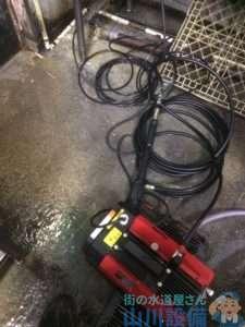 大阪府大阪市西淀川区 排水つまり修理 高圧洗浄機