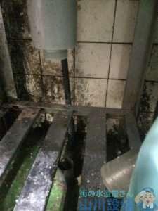 大阪府堺市西区  排水つまり修理