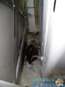 大阪府大阪市中央区 洗濯蛇口水漏れ修理