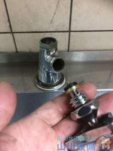 大阪府大阪市北区  蛇口水漏れ修理