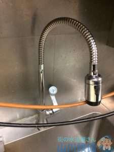 大阪府茨木市西中条町  蛇口水漏れ修理