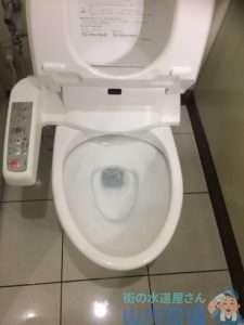 奈良県奈良市大宮町  トイレつまり修理  排水つまり修理  高圧洗浄機