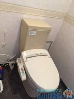 大阪府豊中市西泉丘  トイレ故障修理  タンクに水が溜まるのが遅い