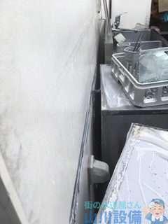 大阪府堺市西区鳳東町  混合水栓故障修理  混合水栓水漏れ修理