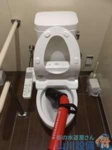 奈良県五條市居伝町 トイレつまり修理 排水管つまり修理 高圧洗浄機