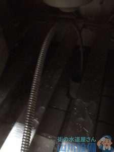 奈良県橿原市内膳町  排水つまり修理  ドレンクリーナー