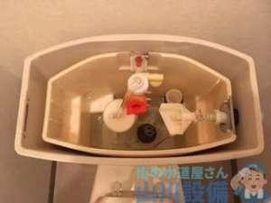 大阪府東大阪市小阪本町 トイレタンク故障修理 手洗いから水が出ない タンクに水が溜まるのが遅い