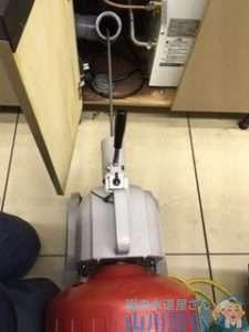 大阪府東大阪市瓢箪山町  排水管つまり修理  ドレンクリーナー