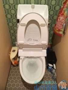 大阪府豊中市服部寿町  トイレつまり修理