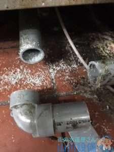 大阪府大阪市東成区大今里南  厨房排水管つまり修理  排水管水漏れ修理  ドレンクリーナー