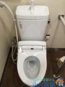 和歌山県和歌山市狐島字長畑 トイレつまり修理 排水管つまり修理 高圧洗浄機