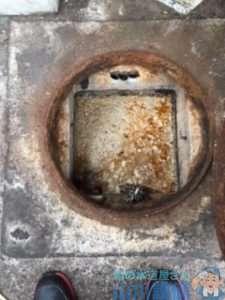 大阪府茨木市上穂積  排水つまり修理 グリストラップつまり修理