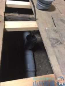 奈良県奈良市肘塚町  トイレつまり修理  排水管つまり修理  ドレンクリーナー
