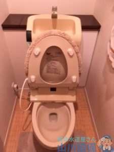 大阪府岸和田市小松里町 トイレつまり修理