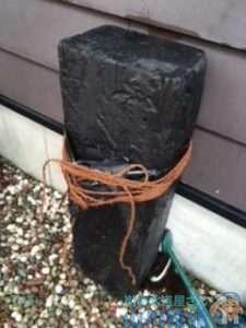 奈良県生駒市白庭台  野外水道水漏れ修理