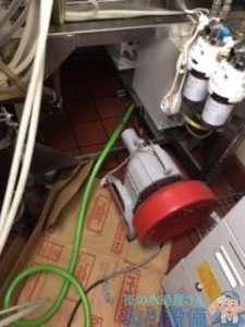 大阪府泉佐野市泉州空港北  排水管水漏れ修理  排水管つまり修理  ドレンクリーナー