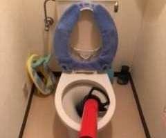 大阪府大阪市淀川区十三本町 トイレつまり修理