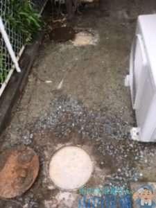 大阪府豊能郡豊能町光風台  キッチン排水管つまり修理  ドレンクリーナー  高圧洗浄機