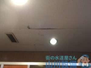奈良県桜井市吉備  漏水調査  給湯管水漏れ修理