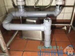 大阪市平野区長吉長原で排水管の水漏れ修理の依頼なんですが水漏れ原因が…