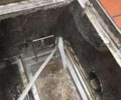 兵庫県明石市大蔵八幡町 排水管つまり修理 高圧洗浄機