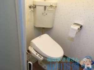 ローポンプ作業で解決しないトイレつまりの代表は尿取りパッド(苦笑)大阪市中央区谷町編外すの怖いパターン…