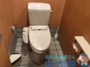 自分の家でも流してんのか?トイレが詰まる詰まらん以前の話が四條畷市砂でありましたの巻